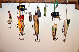 antique fishing-lures