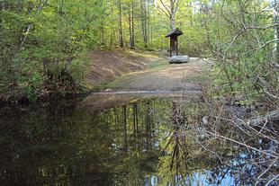 Put in at Hawkins Pond