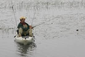 kayak in weeds