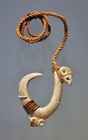 Old carved hook