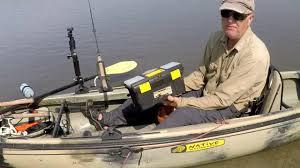 Man in small boat