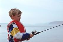 Kid Fishing Closed Face Reel