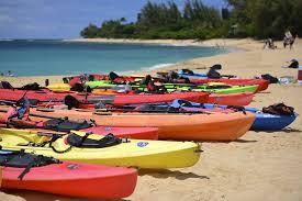 many kayaks