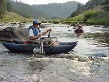 fisherman inflatable pontoon boat