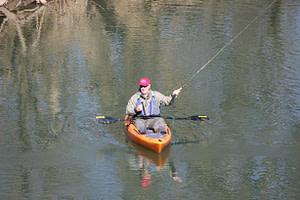flyfishing-in-a-kayak