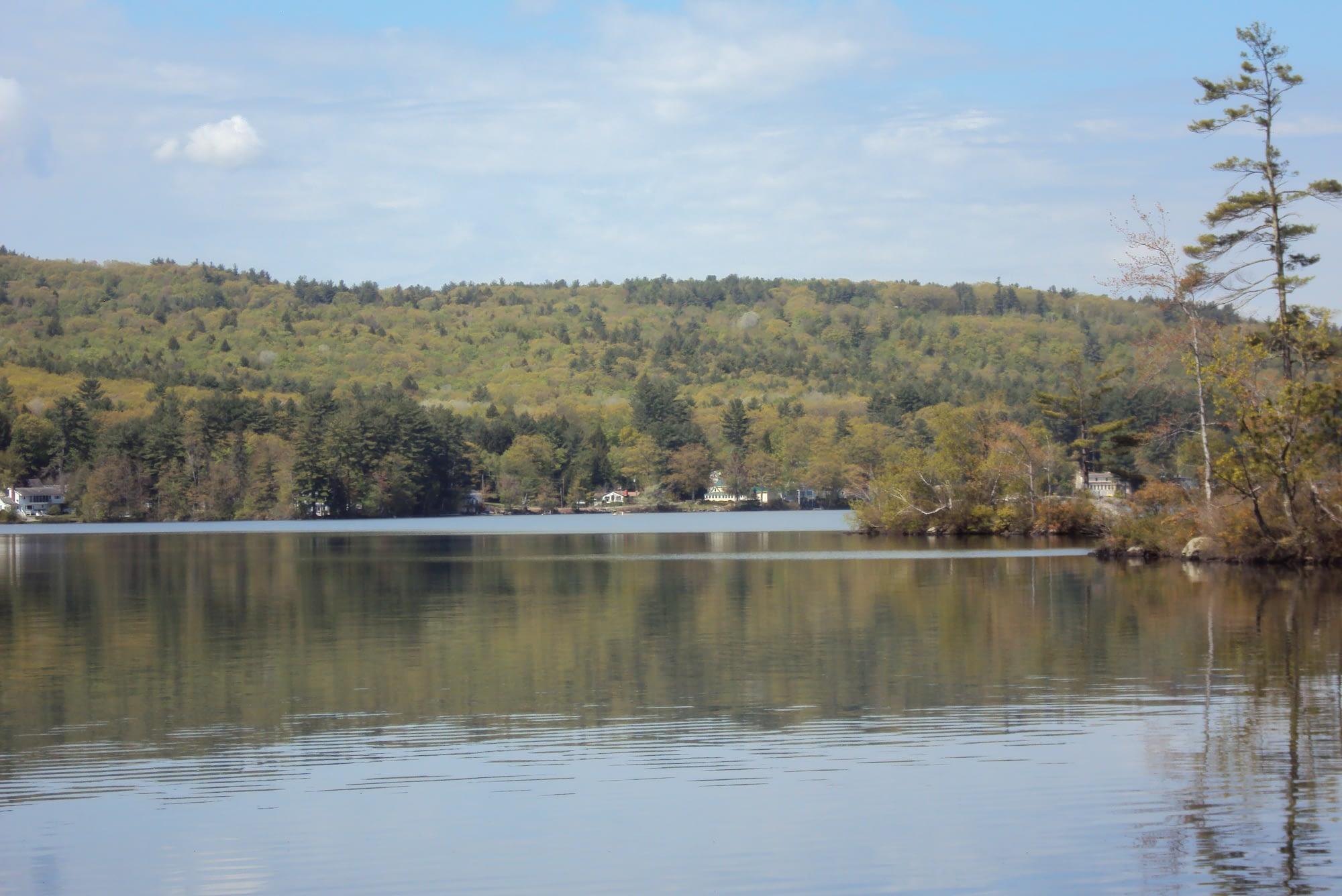 Webster Lake water
