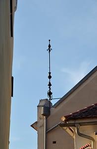 Town_hall,_Drosendorf_-_lightning_rod