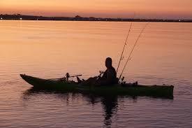 night fishing kayak
